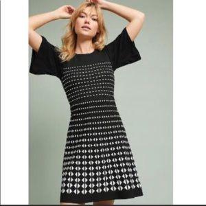 Anthropologie Akemi + Kin Patterned sweater dress